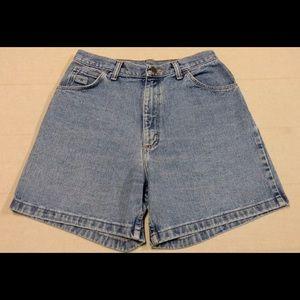 Vintage women's wrangler shorts high waist